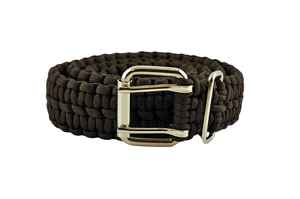 Straight Bar Charcoal Paracord Belt