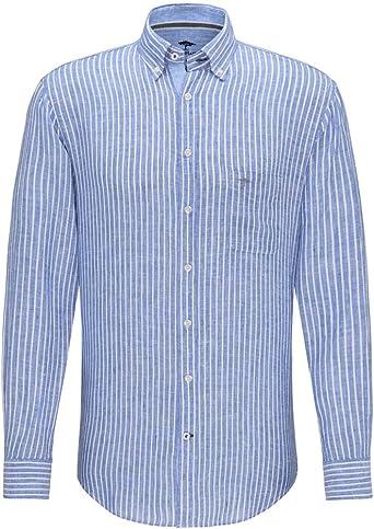 Fynch Hatton 1120-6110 6113 - Camisa de lino para hombre ...