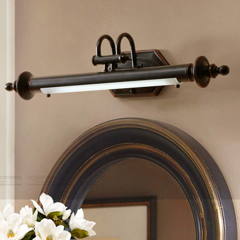 ACHNC LED Spiegellampe Badezimmer Retro,Spiegelleuchte Bad Vintage ...