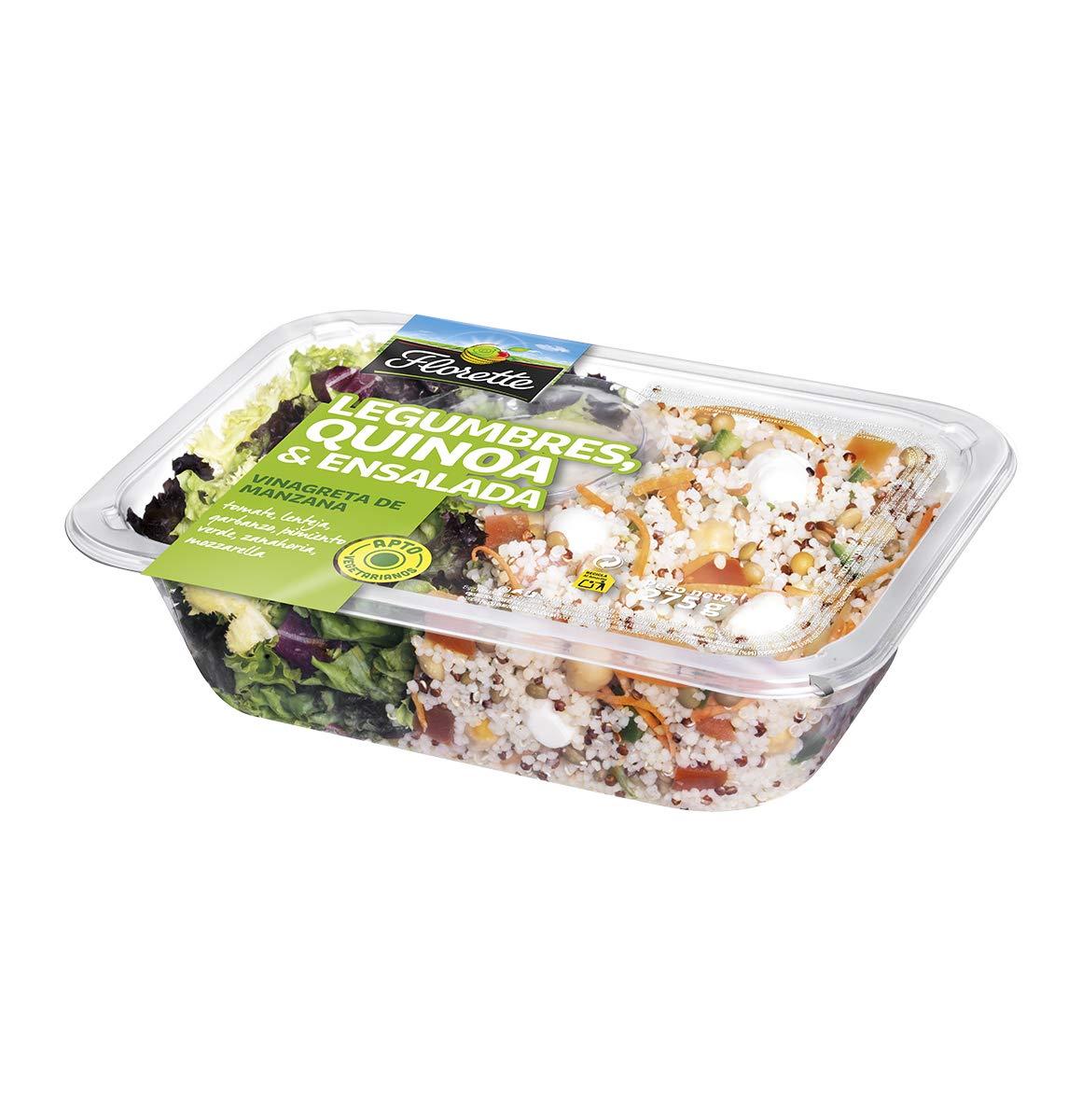 Florette Ensalada Completa Legumbres y Quinoa - 275 gr: Amazon.es: Alimentación y bebidas
