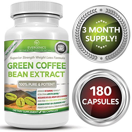 Super Premium 100 Organic Green Coffee Bean Extract Weight Loss