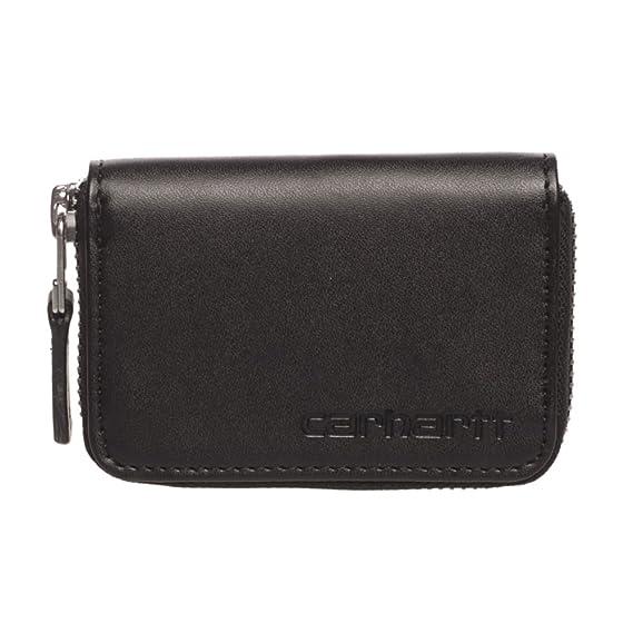 Cartera Carhartt: Mini Wallet Cow Leather BK: Amazon.es: Ropa y accesorios