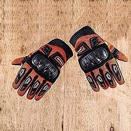 Axor Air Stream Black Orange Gloves-L