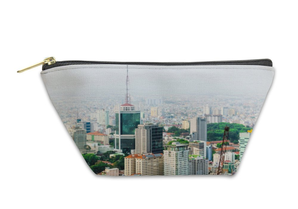 Gear New Accessory Zipper Pouch, Business Center Of Ho Chi Minh City, Large, 5922652GN