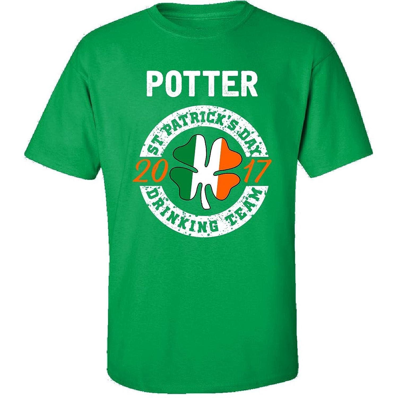 Potter St Patricks Day 2017 Drinking Team Irish - Adult Shirt