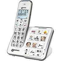 Geemarc AmpliDECT 295 grote toetsen telefoon met 10 directe composietoetsen en optische oproepweergave op het…