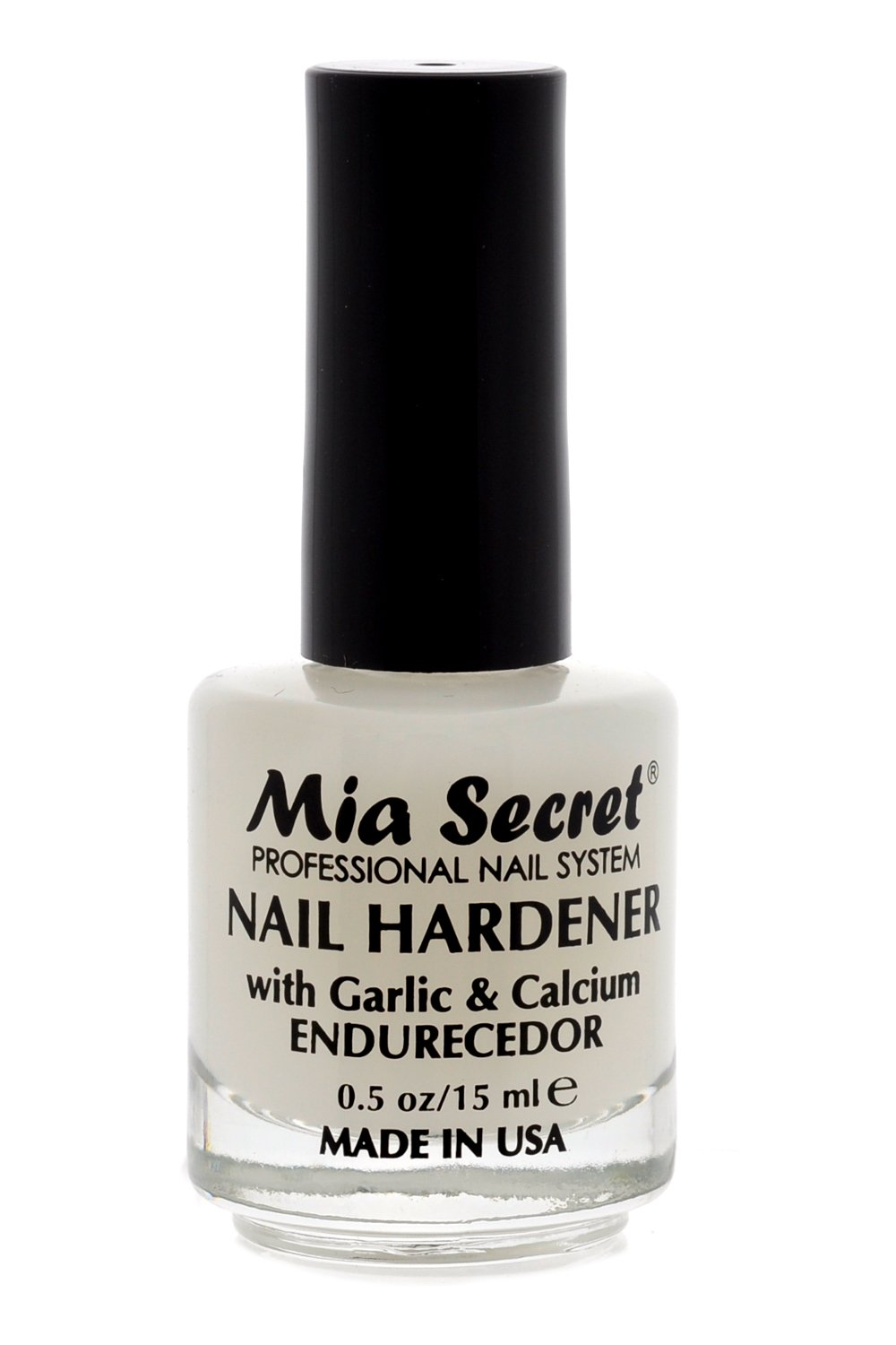 Amazon.com: Mia Secret Nail Hardener with Garlic & Calcium 0.5 OZ ...