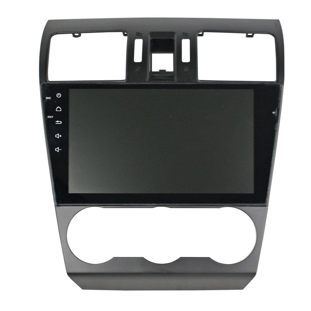 kunfine Octa Core Android 6.0 Coche Reproductor de DVD GPS navegación Multimedia estéreo para Subaru Forester 2014 - 216 Deckless Autoradio Control de ...