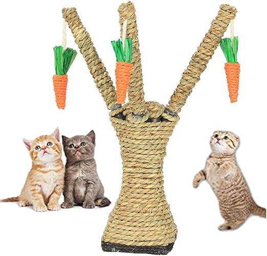 Tablero De Arañazos De Cuerda De Sisal para Mascotas, Juguetes Divertidos para Jugar con Gatos Rascadores, Estera De Arañazos De Sisal Colorido con Un Lindo Patrón, Adecuado para Gatos: Amazon.es: Hogar