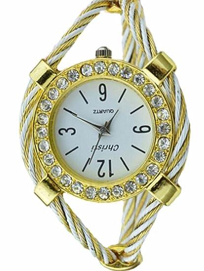 El mundo de la moda de los relojes de alambre de acero SAMGU de un elegante