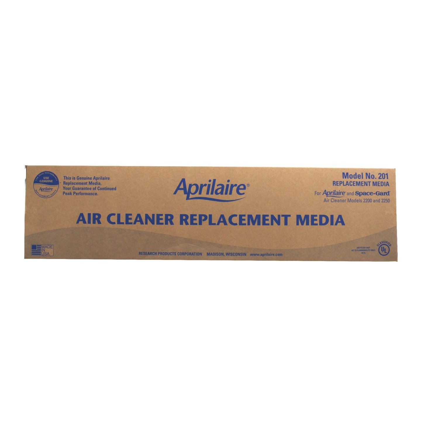 Aprilaire 201 Replacement Filter (Pack of 2)