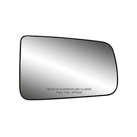 Fit System 80261 Ford Focus Right Side Power Replacement Mirror Glass With Backing Plate