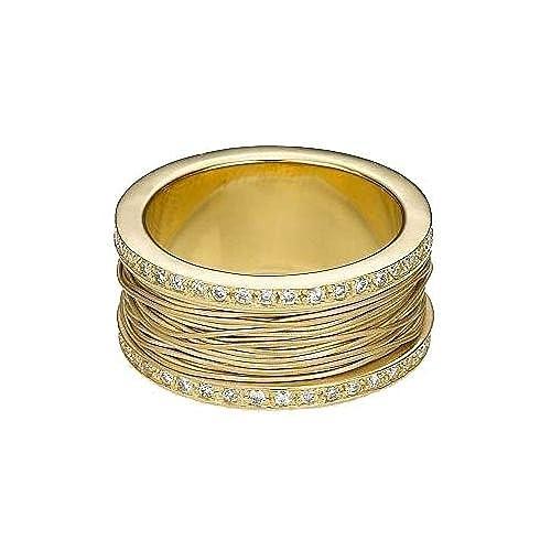 Amazon.com: 14 K oro 10 mm Bandas de boda anillos de ...