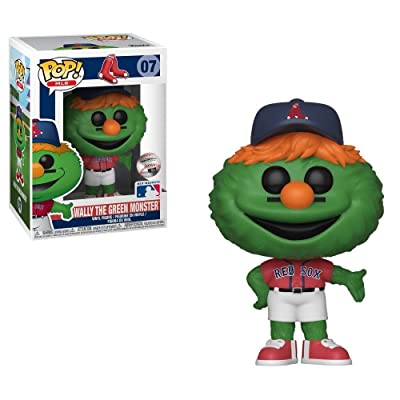 MLB Mascots Funko Pop! Wally The Green Monster(Boston Red Sox): Toys & Games