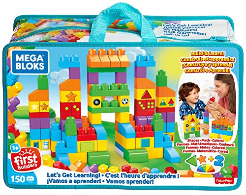 - Mega Bloks Let's Get Learning Building Set
