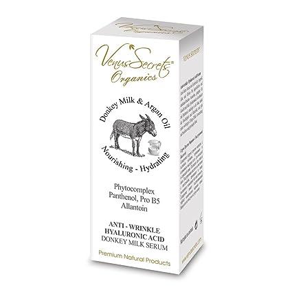 Anti de Wrinkle Serum with donkey Milk & hyalu Electronic Acid ...