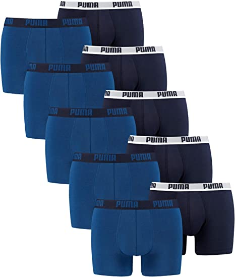 10 er Pack Puma Boxer shorts true blue Size XL Herren