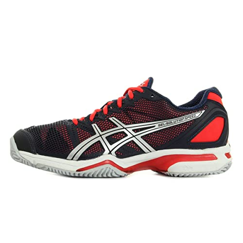 Zapatillas de Padel Asics Speed Clay, Color Rojo, Talla 10 us: Amazon.es: Zapatos y complementos