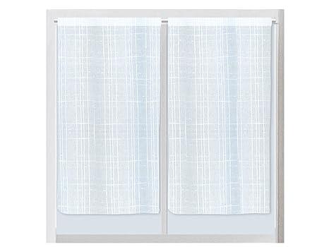 Soleil d ocre coppia di tende per porta finestra in lino