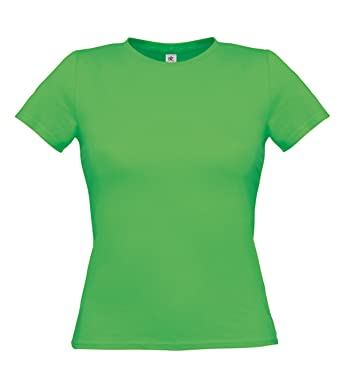 B C bctw012 T Shirt Women Only Real Green Large  Amazon.it ... 2f4c7b077f