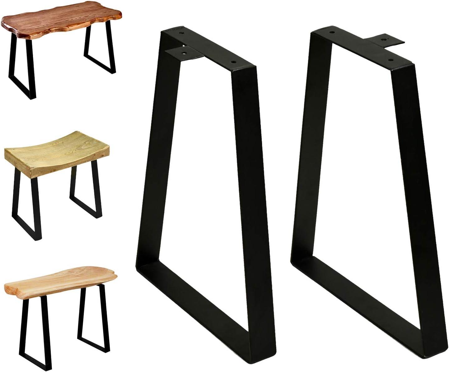 16 tall trapezoid metal table legs