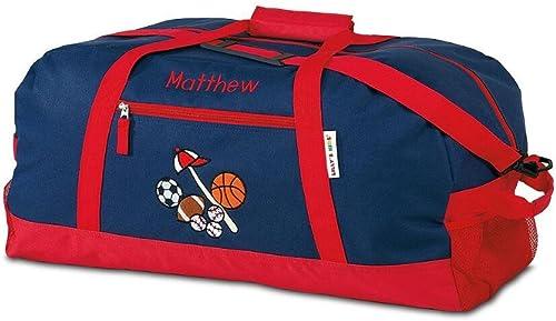 All Sports Kids Personalized Medium Duffel Bag, 23 long, Boys Sports Bag