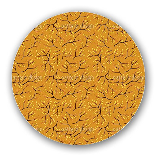 Uneekee Japanese Autumn Gold Lazy Susan: Large, pure birch wooden Turntable Kitchen Storage by uneekee