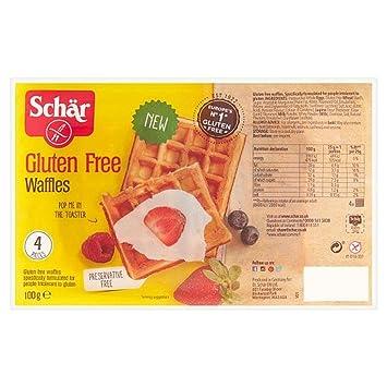 Schar Gaufre Soft Waffles 100g: Amazon.es: Salud y cuidado ...