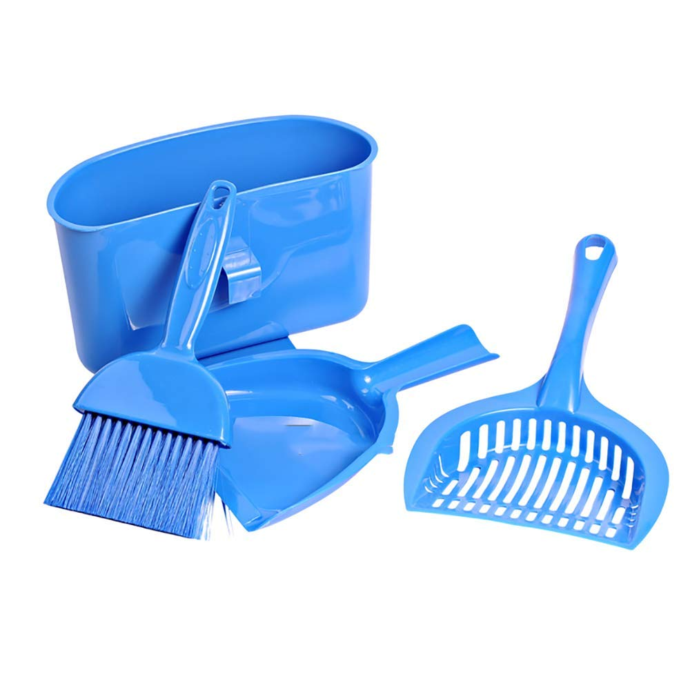 Four-Piece Pet Cat Litter Shovel,Cleaning Tool Set for Animal Waste,Pet Waste Shovels Cleaning Tools for Reptile and Other Small Animals