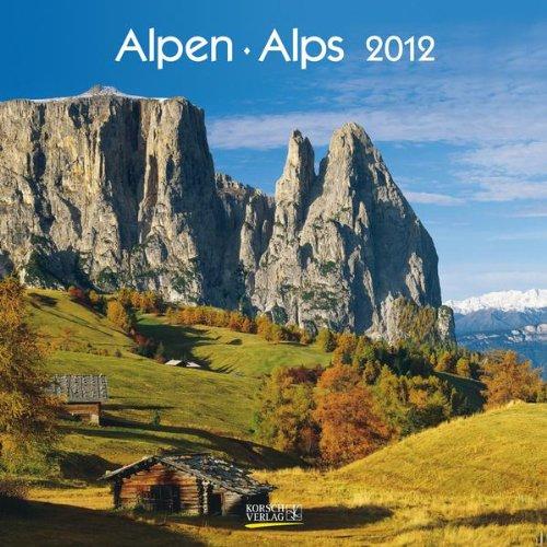 Alpen/Alps 2012. Broschürenkalender