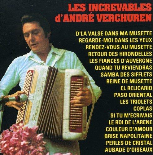 UPC 601215340723, Les Increvables D'Andre Verchuren