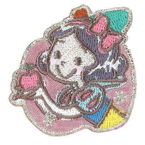 ミノダ ディズニープリンセス コミックワッペン 白雪姫 アップル D01Y9176の商品画像