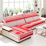 Z&HX Sofa/Sofa Cover/Sofa Sets/Sofa Throw/Sofa Towel/Sand Release/Sofa Pad/Sofa Thick/Sofa Slipcovers/Sofa Cushions/Lattice/Living Room/Wear-Resistant,Anti Dirty/Import(3&2 Seater),C