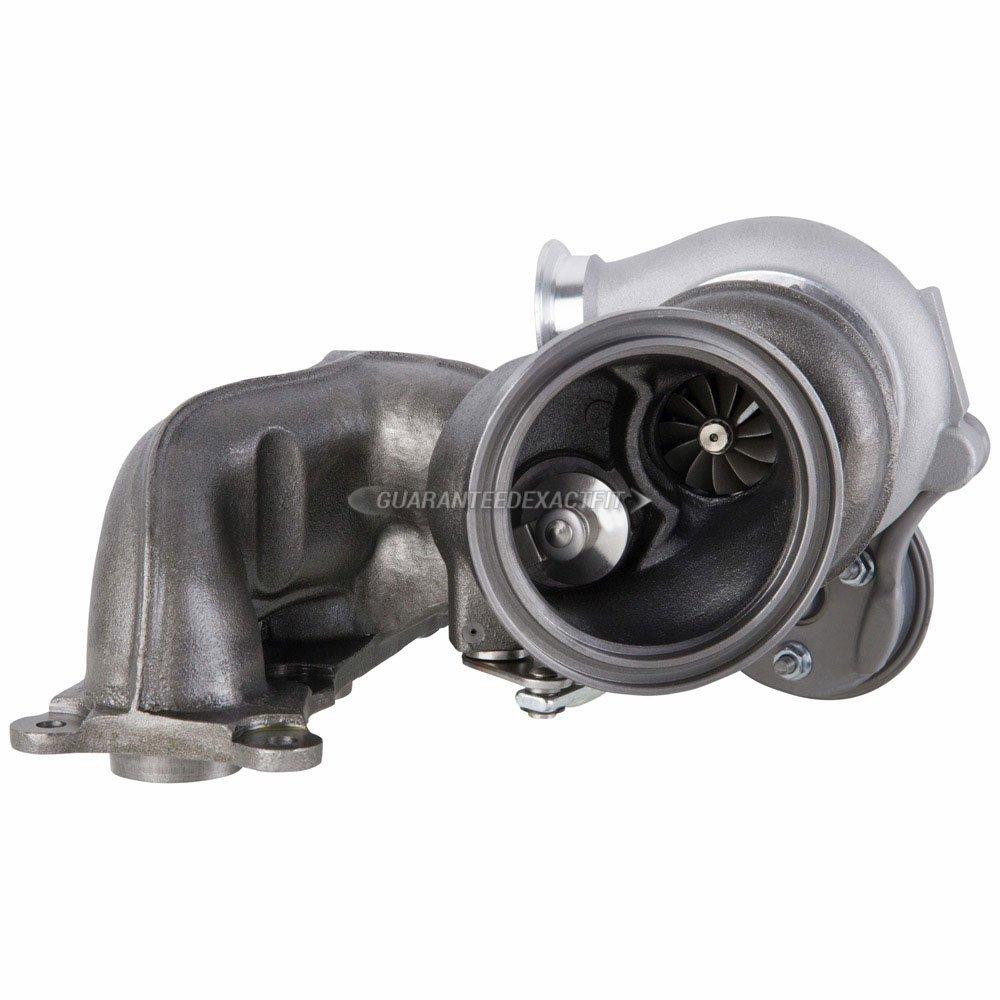 Amazon.com: New Stigan Front Turbocharger For BMW 135i 335i 335is 335xi 535i 535xi Z4 & 1M - Stigan 847-1473 New: Automotive