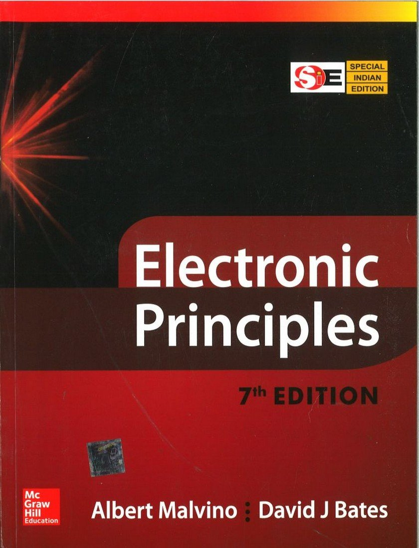 Electronic principles (special indian edition): albert malvino and.
