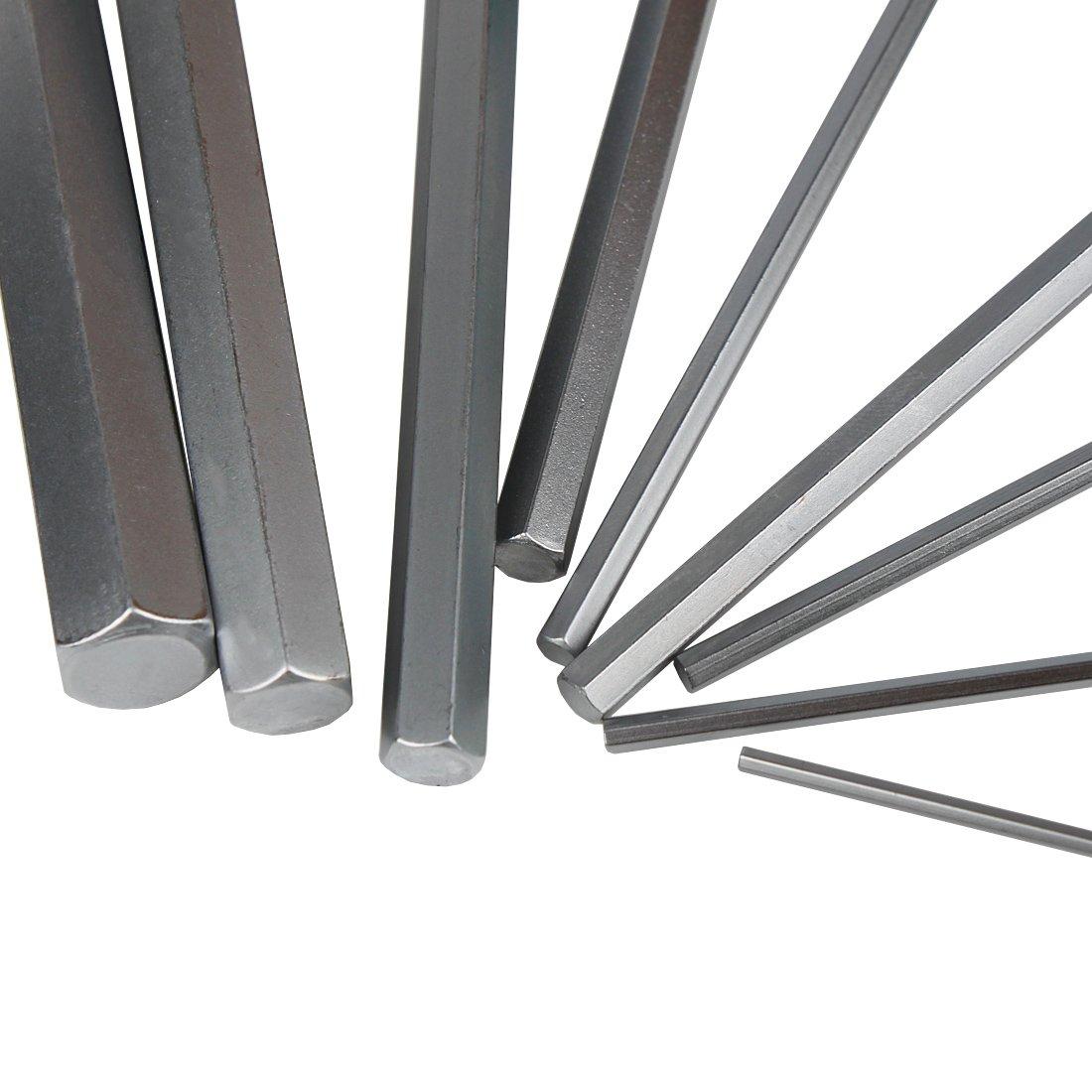 Andux Zone Hexagonal Metric Wrench T-Handle Hex Keys NLJBS-02 5mm