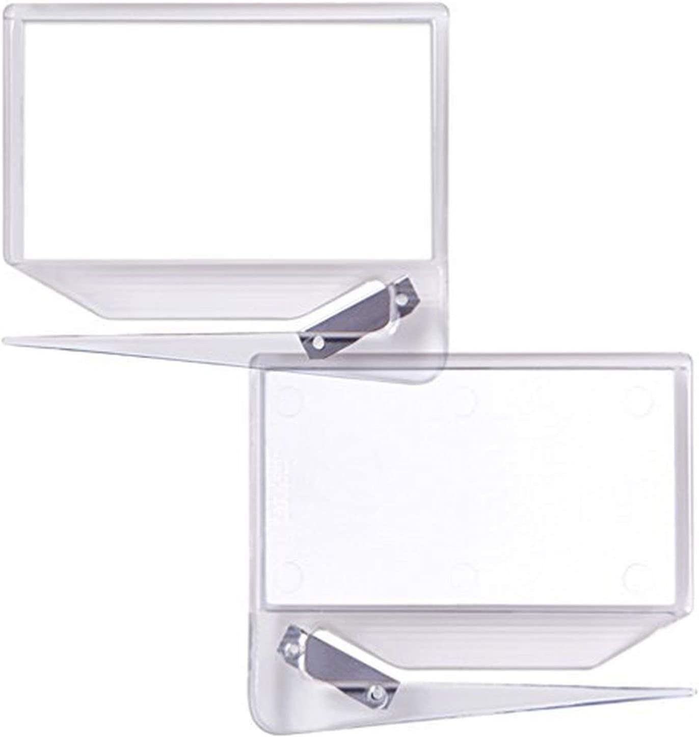 Business Card Zippy Letter Opener, Clear, Made in The USA (3 Pack)