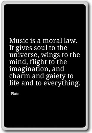 Amazoncom Music Is A Moral Law It Gives Soul To The Universe