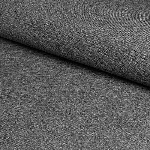Fabulous Fabrics Tela de tapicería Savio - Gris Pizarra ...