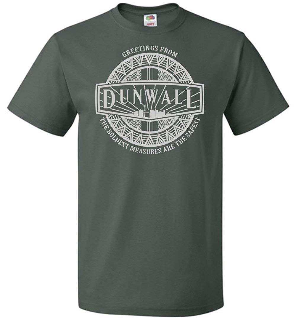 Greeting from Dunwall Unisex T-Shirt Adult Pop Culture Graphic Tee Nerdy Geeky Apparel