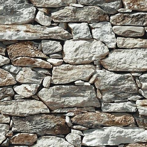 wallpaper faux smooth rock and stone wall gray white rust black looks real up amazon com wallpaper faux smooth rock and stone wall gray white rust black looks real up
