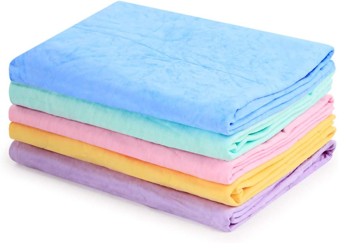 Cabilock PVA Functional Towel Synthetic Absorbent Deerskin Cloth for Bathroom Wet Hair Cleaning Home Car Wash