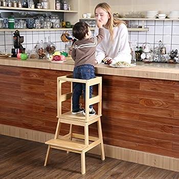 Amazon Com Kids Kitchen Helper Kitchen Step Stool With