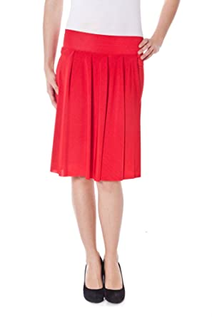 Denny Rose 2555 Falda Longuette Mujer Rojo S: Amazon.es: Ropa y ...