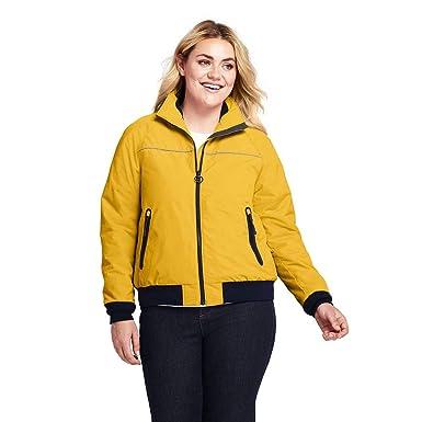 923792a1fc1 Lands  End Women s Plus Size Squall Jacket at Amazon Women s Coats Shop