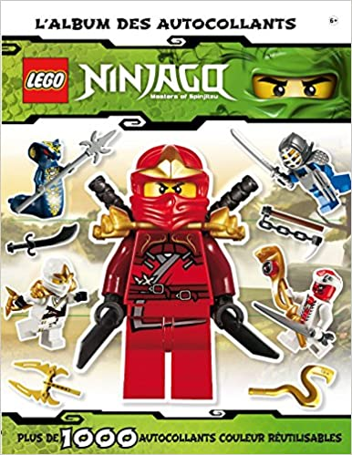 Lego Ninjago L Album Autocollants Amazon Fr Shari Last