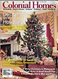 cape cod decorating COLONIAL HOMES MAGAZINE, December 1996