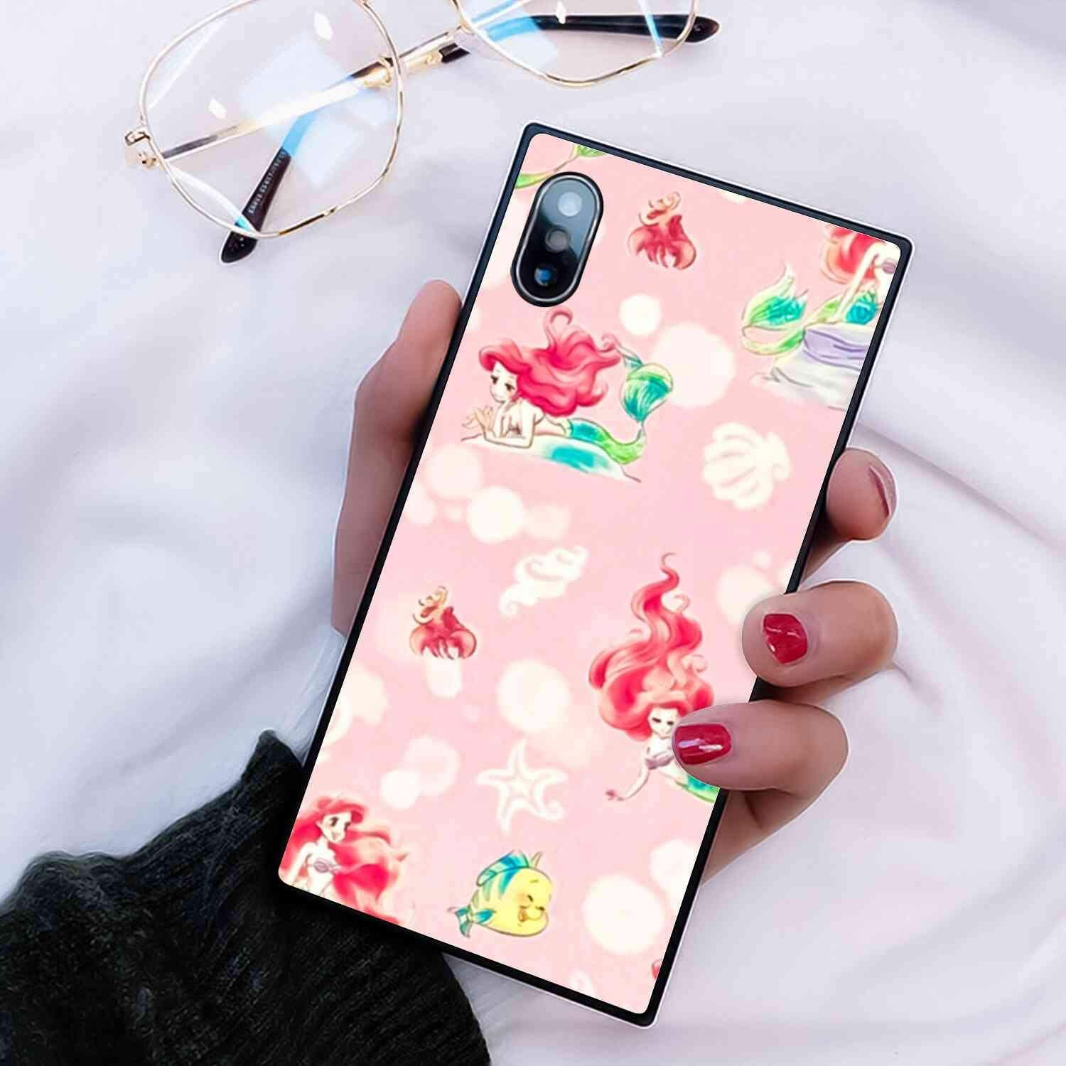 Amazon Com Disney Collection Square Phone Case Fit For Iphone X