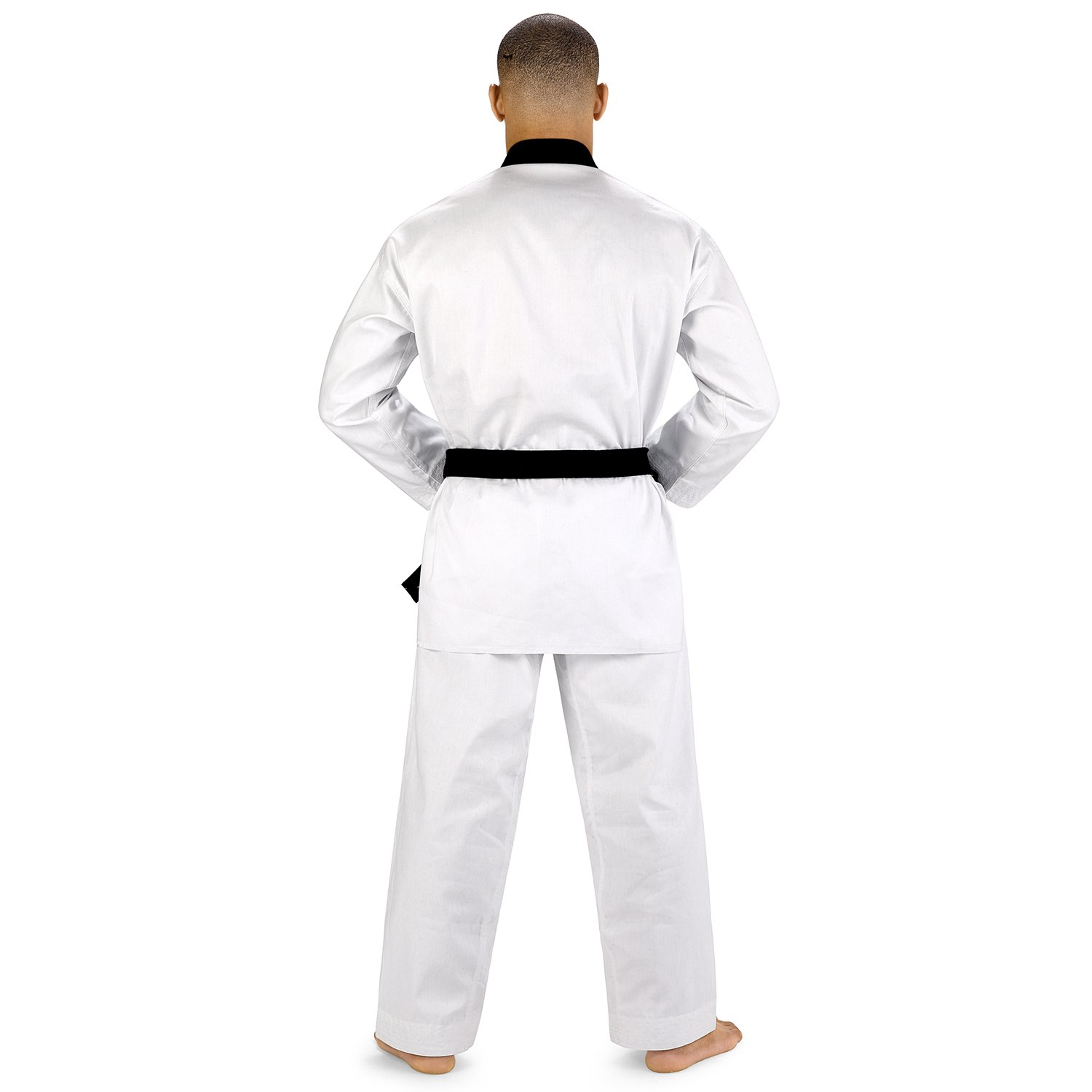 Amazon.com: Elite deportes Color Blanco Taekwondo Kimono TKD ...