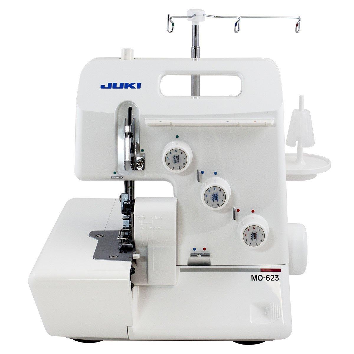 Sewing Juki Garnet Line MO-623 1-Needle 2/3 Thread Serger w ...